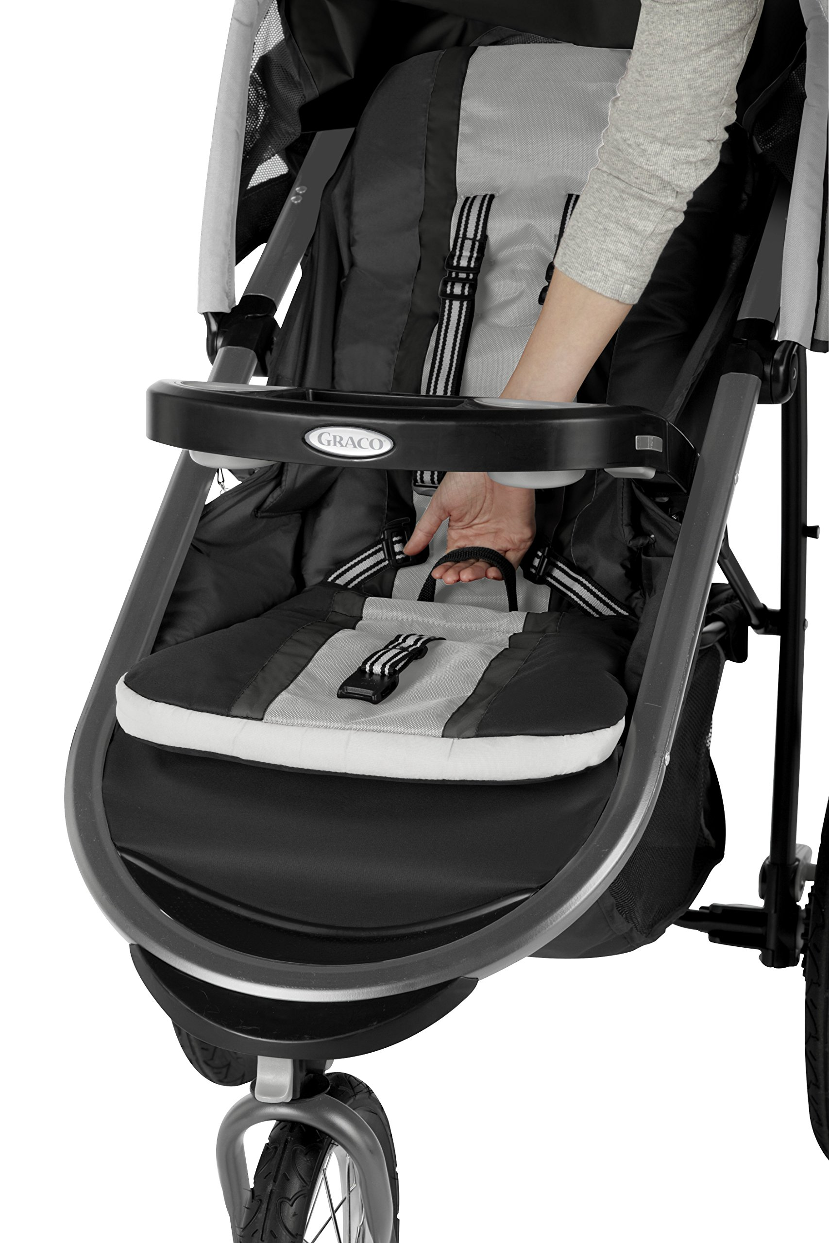 Graco Fastaction Fold Jogger Click Connect Stroller, Gotham by Graco (Image #3)