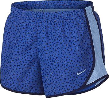 67a0b1ae2748f Amazon.com: Nike Girl's Dry Tempo Printed Running Shorts: Clothing