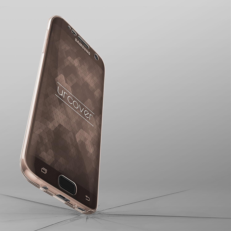 Grigio Huawei P9 Full Body Case Ultra Sottile Protezione 360 Grad Completa UrCover Custodia Huawei P9 Fronte Retro Cover Silicone Trasparente