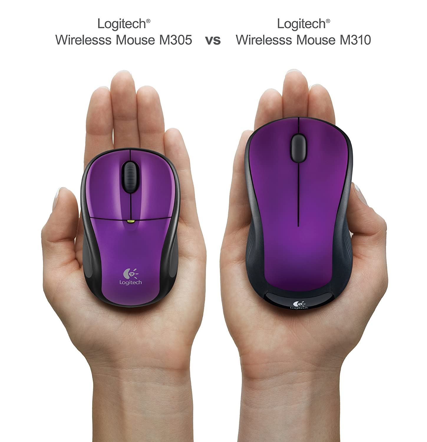 Logitech m305 wireless mouse review-very portable and comfortable.