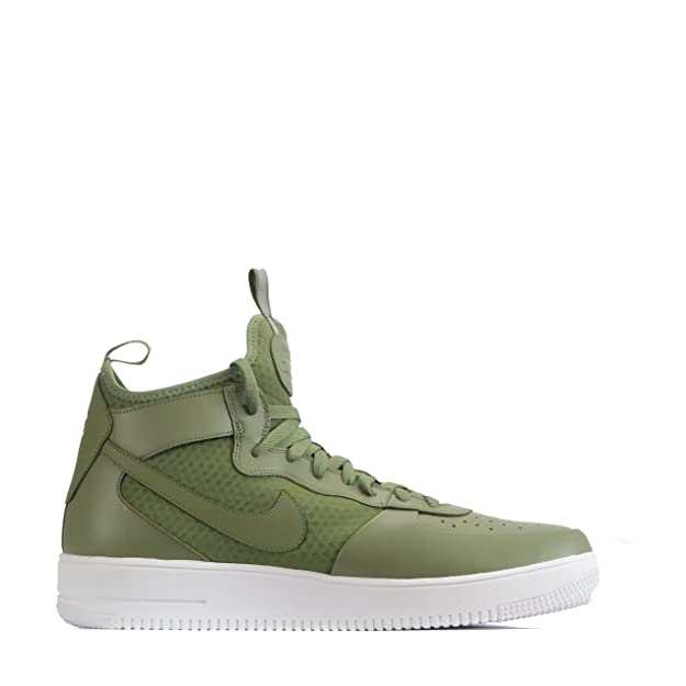 Nike Air Force 1 Ultraforce Mid para Hombre Botines - Palmera Verde/Palmera Verde/Blanco, 49.5: Amazon.es: Zapatos y complementos