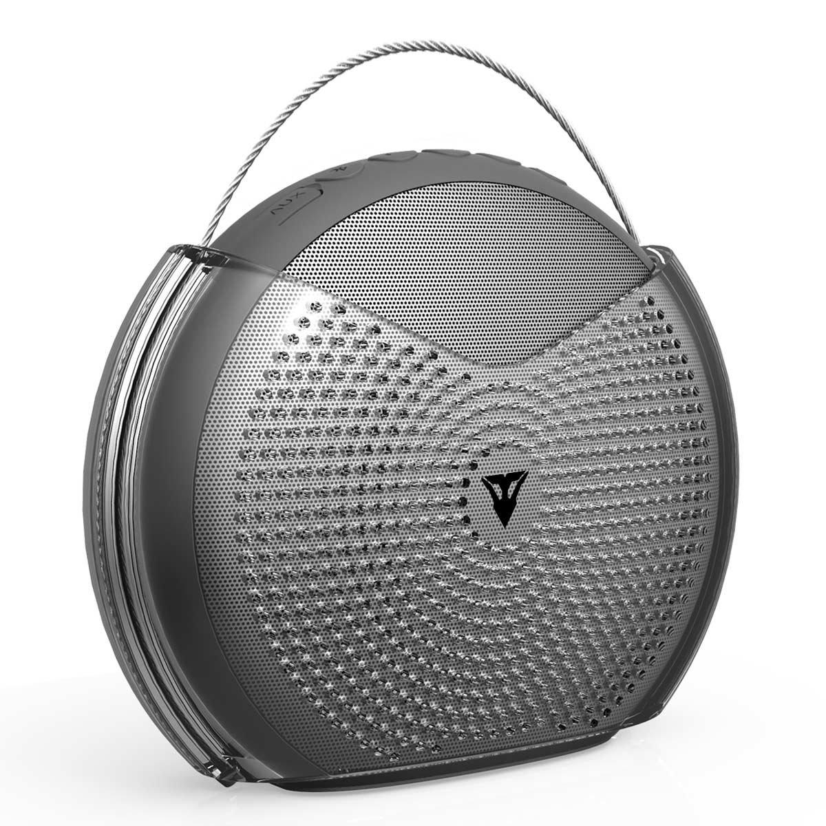 Vantrue 24 Hours Wireless Portable Bluetooth Speaker with 25W Loud Volume Dual Driver, Bluetooth V4.2, Enhanced Bass, Crisp highs, Built-in Mic for Beach, Home, Outdoor, Shower Splashproof
