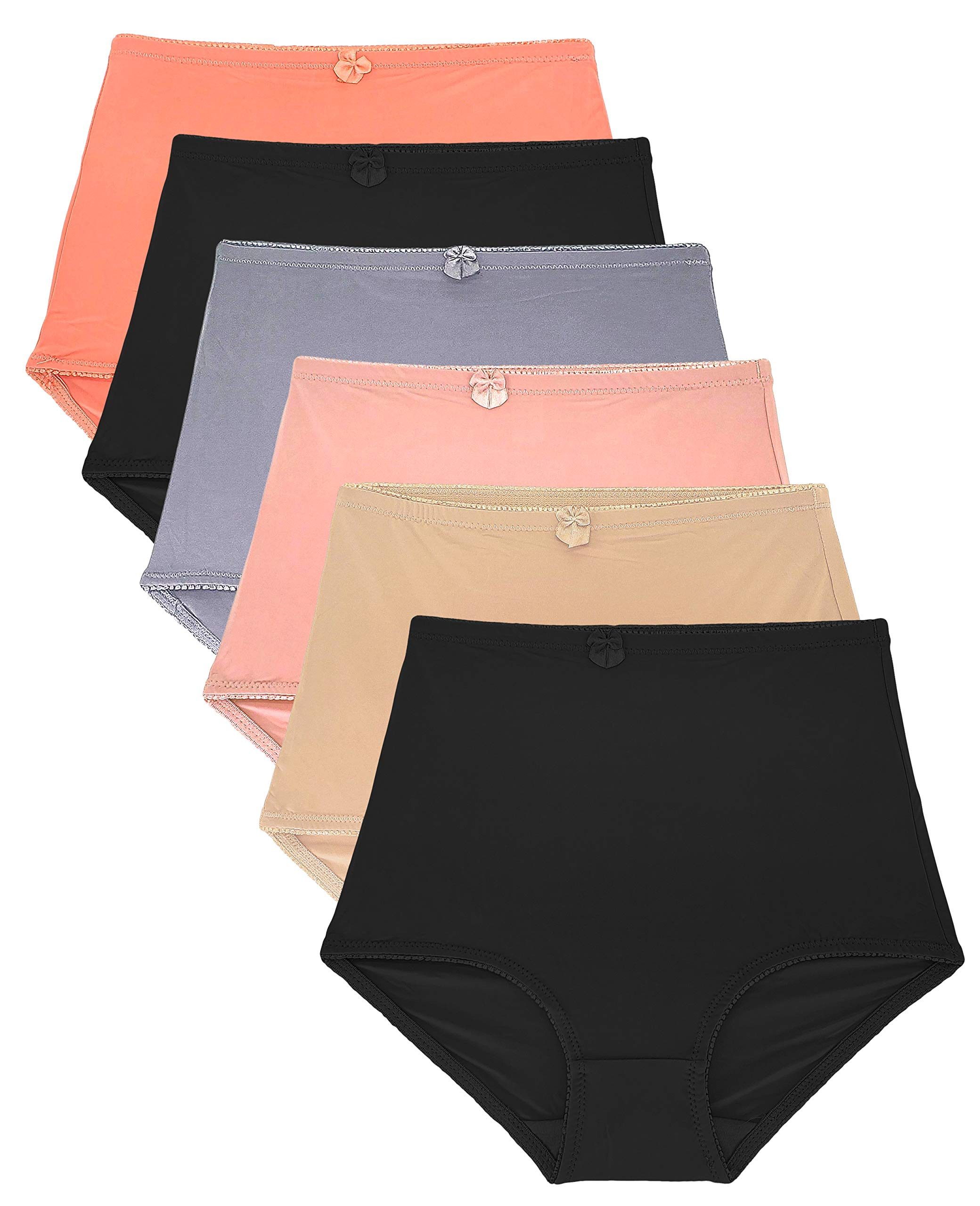 Barbra's Women's High-Waist Tummy Control Girdle Panties