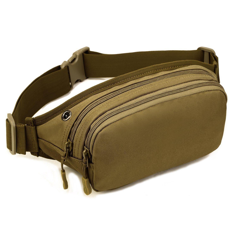 Huntvp Mochila Táctical Bolso de Cintura Bolsa Riñonera Bandolera Cinturón Estilo Militar Bolso de Múltiple Función Riñoneras para Herramientas Mochila ...