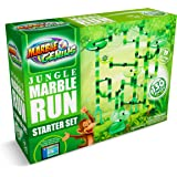 Marble Genius Marble Run Jungle Starter Set - 130 Complete Pieces + Free Instruction App (80 Translucent Marbulous…