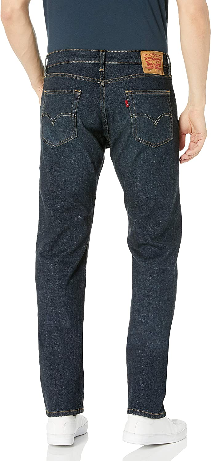Levi's Men's 504 Regular Straight Fit Jeans Durian Tint - Stretch