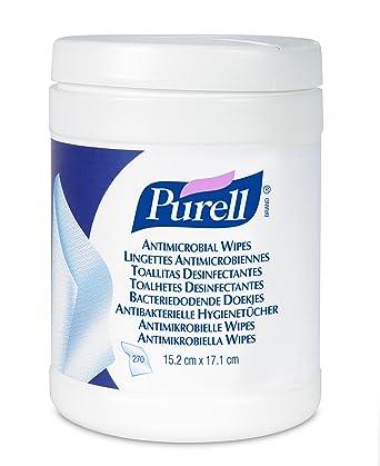 PURELL Caja Con Toallitas Desinfectantes, 270 Unidades, 1 Unidad