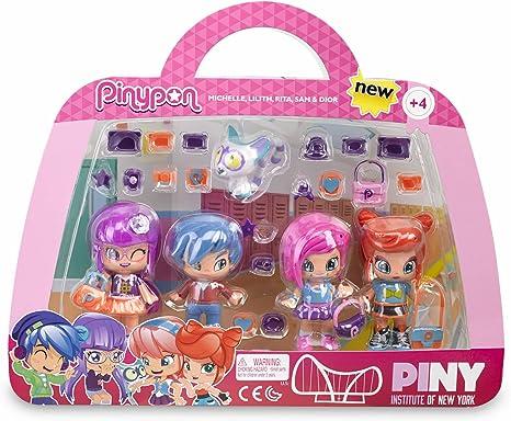 Amazon.es: Pin y Pon Piny Pack 3 Figuras: Juguetes y juegos