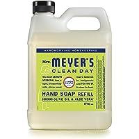 Mrs. Meyer's Clean Day Hand Soap Refill, Lemon Verbena - 975ml