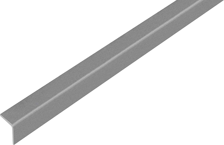 GAH-ALBERTS ángulo perfil–, auto-adhesivos, plástico, Gris Metálico, 1000x 20mm, 1pieza, 432928.0