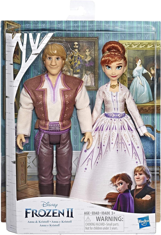 Anna Kristo Disney Frozen 2 Sledding Adventures Fashion Doll Playset with Elsa
