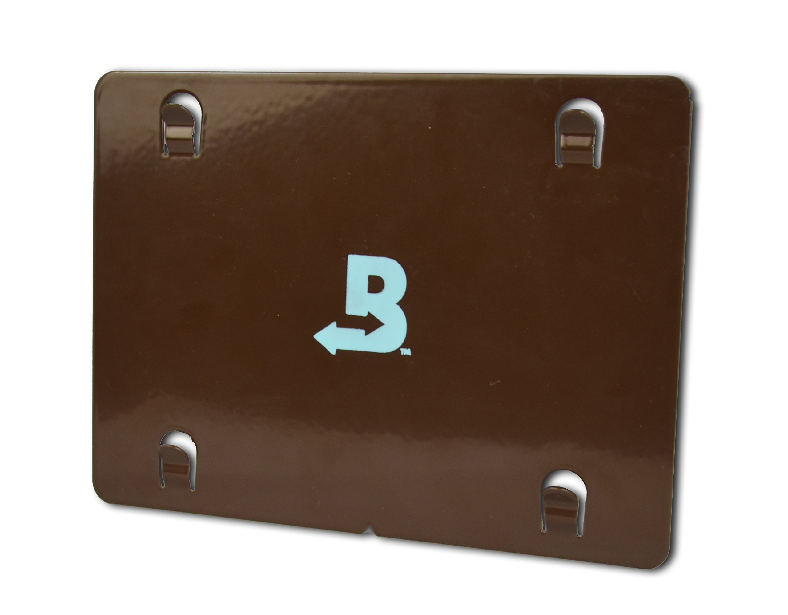 Boveda Metal Mounting Plate for Humidors, attaches (1) 320-gram Boveda with Magnetic kit (Included); Made of Powdered Coated Steel, Built in tabs Slide into The Squares on The Back of Boveda 320 Gram