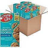 Enjoy Life Crunchy Cookies, Nut Free Cookies, Soy Free, Dairy Free, Gluten Free, Non GMO, Vegan Chocolate Chip Cookies…