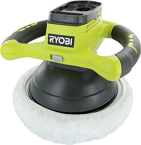 "Ryobi P435 One+ 18V Lithium Ion 10"" 2500 RPM Cordless Orbital Buffer"