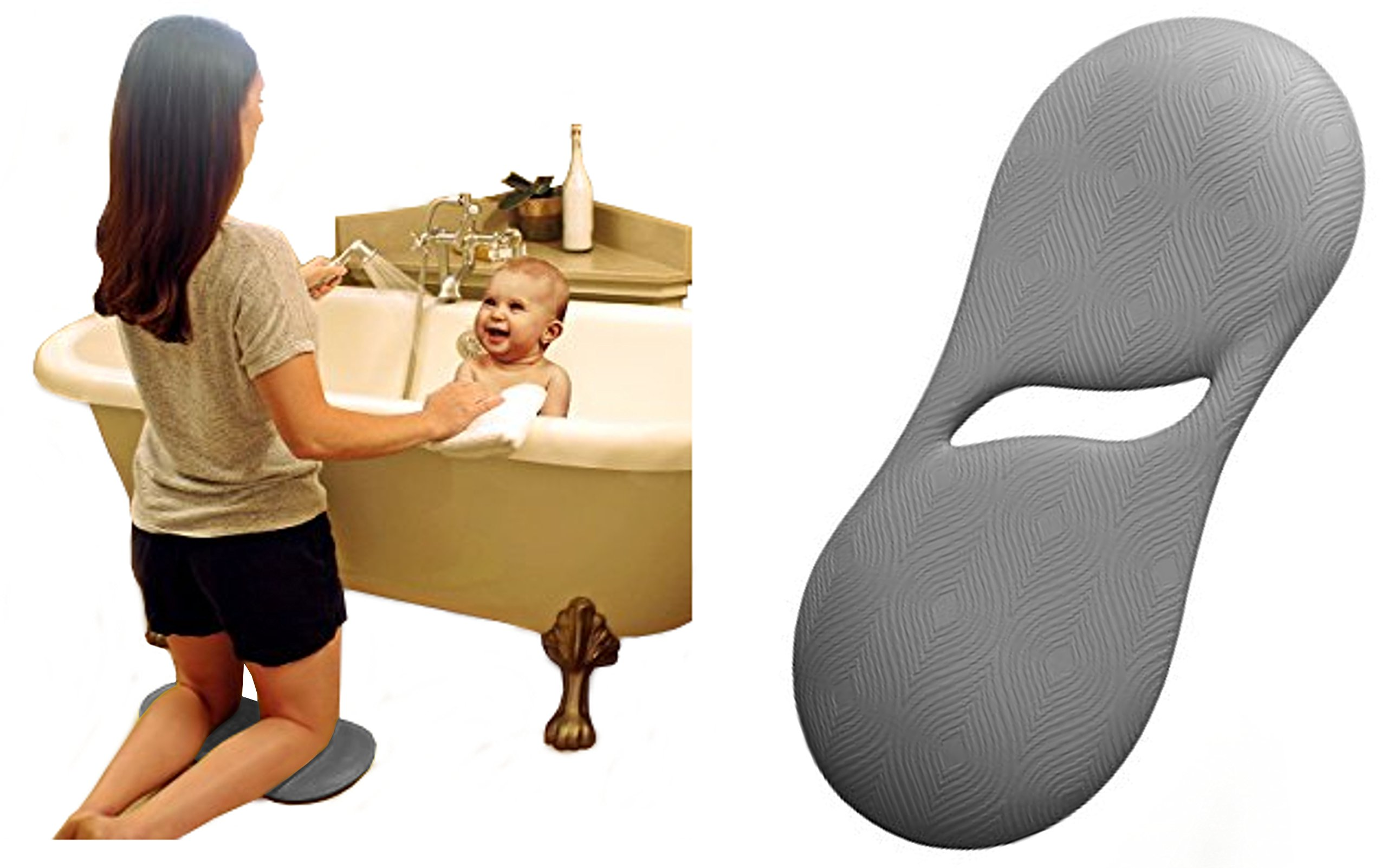 Essential Kneeler, Baby Bath Kneeler. Water-Proof! Thicker & More Durable! by Hack The Grind (Image #1)