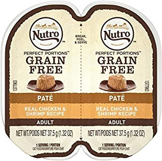 product image for NUTRO PERFECT PORTIONS Pate Real Chicken and Shrimp Wet Cat Food Tray - 2.65 Ounces (Pack of 24)