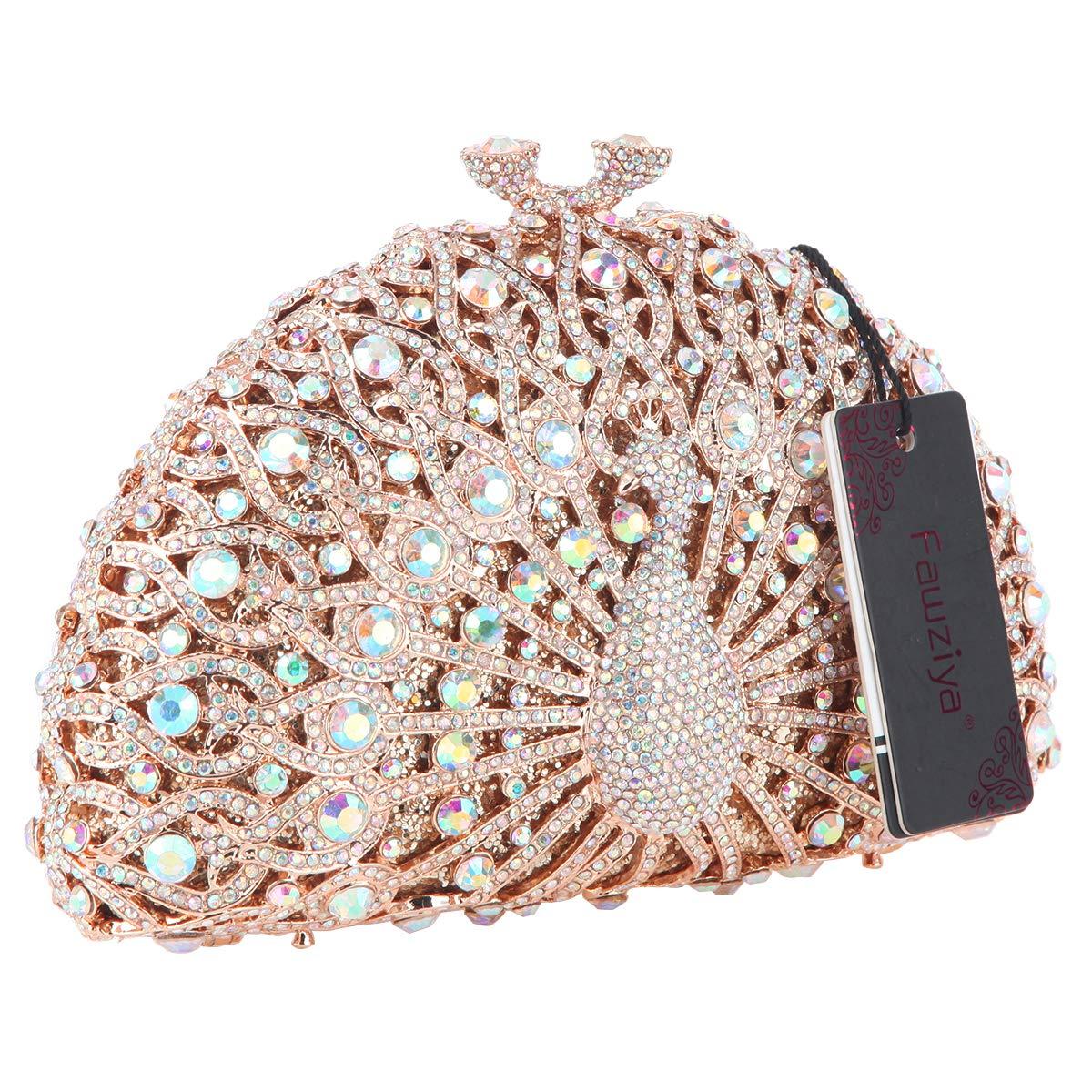 Amazon.com: fawziya embragues vidrio de lujo para las ...