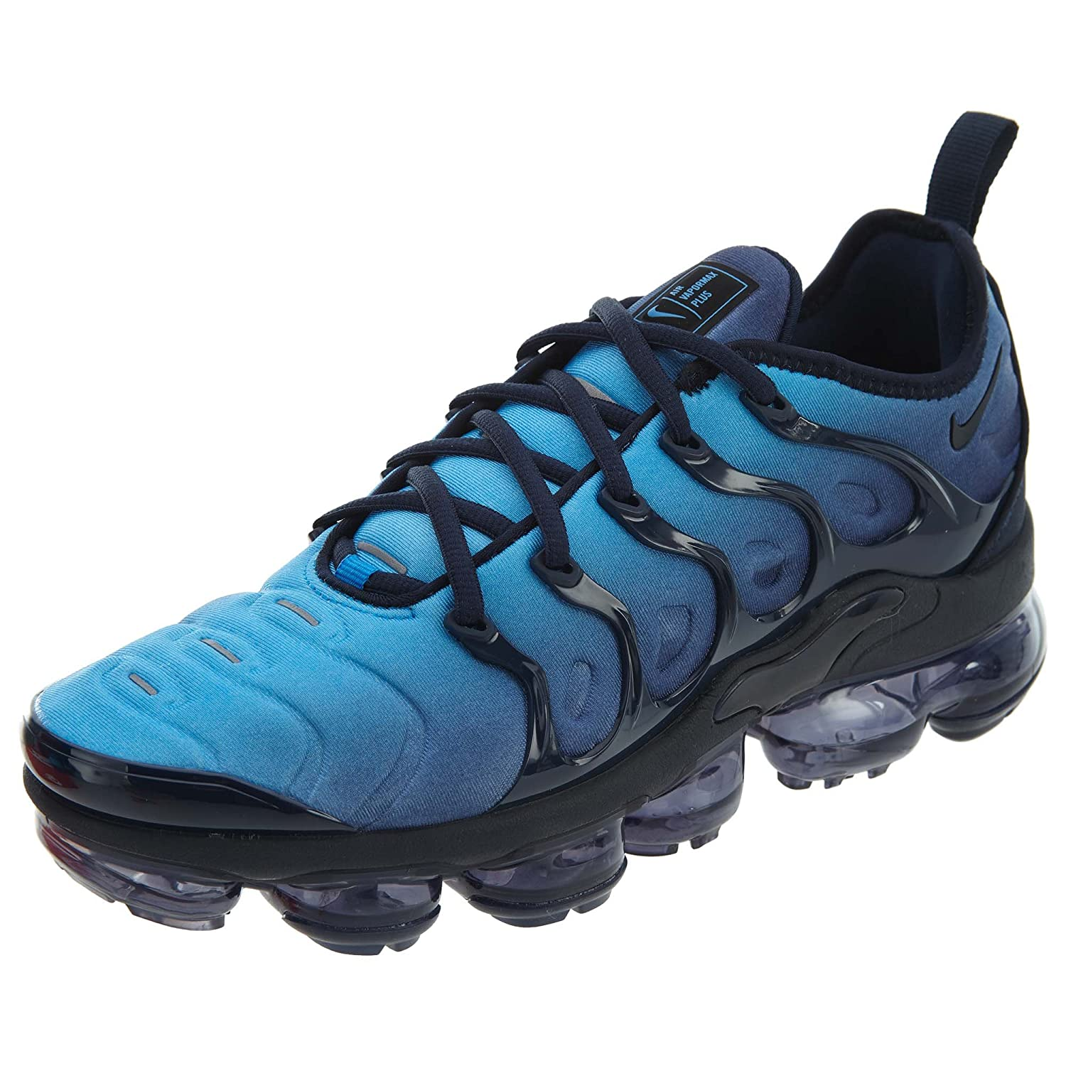 6d731aa84c3d Nike Mens Air Vapormax Plus Obsidian Photo Blue Neoprene Size 9  Buy Online  at Low Prices in India - Amazon.in