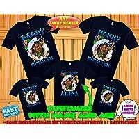 6adea303 Moana birthday shirt, Moana and Maui birthday tshirt, Moana theme party  shirts, Moana