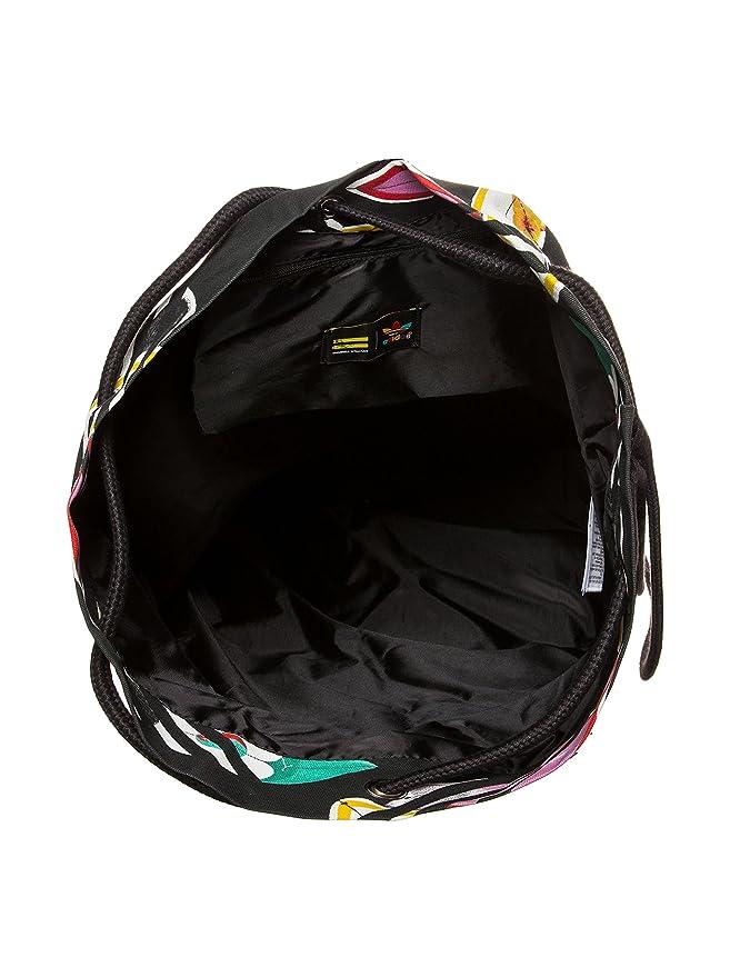a5694120a80 Amazon.com | adidas Originals Unisex Pharrell Williams Seasack Backpack  -Black-NS | Drawstring Bags