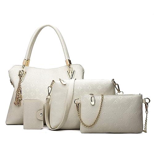 d5aad9982c Pahajim dames sac à main dames coffret dames personnalité sac cosmétique 8  pièces ensemble dames sac