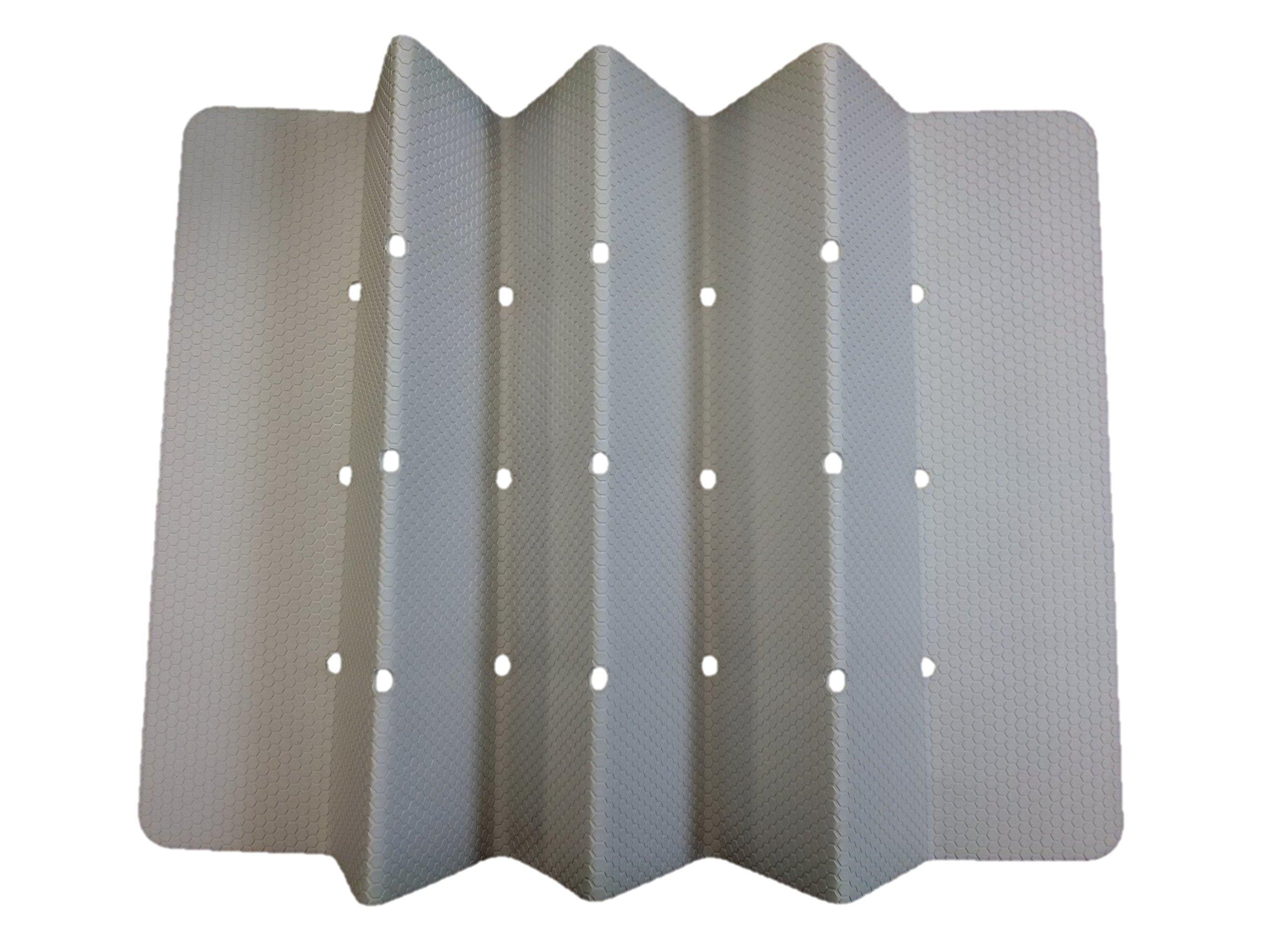 Sultan S Linens Foldable Non Slip Rubber Bath Mat