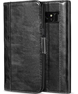 new products 4b49e 80106 Amazon.com: Galaxy Note 8 Wallet Case, Ultra Slim Business Style ...