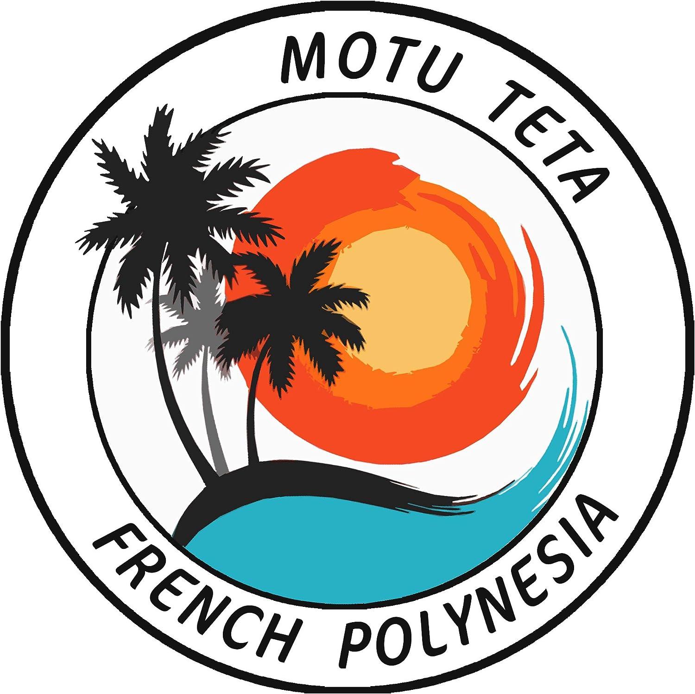 Motu Teta Polinesia Francesa 3.5 pulgadas troquelado Auto ...