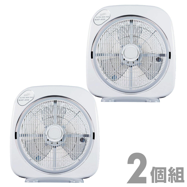 ナカトミ(NAKATOMI) 45cmウルトラボックス扇風機 タイマー付き 2個組 BXF-450*2 B0714JPKGR 23590
