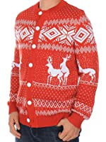 Ugly Christmas Sweater - Red Humping Reindeer Funny Christmas Sweater