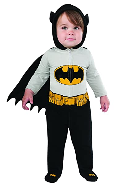Rubieu0027s Babyu0027s DC Comics Superhero Style Baby Batman Costume Multi ...  sc 1 st  Amazon.com : baby superhero halloween costumes  - Germanpascual.Com