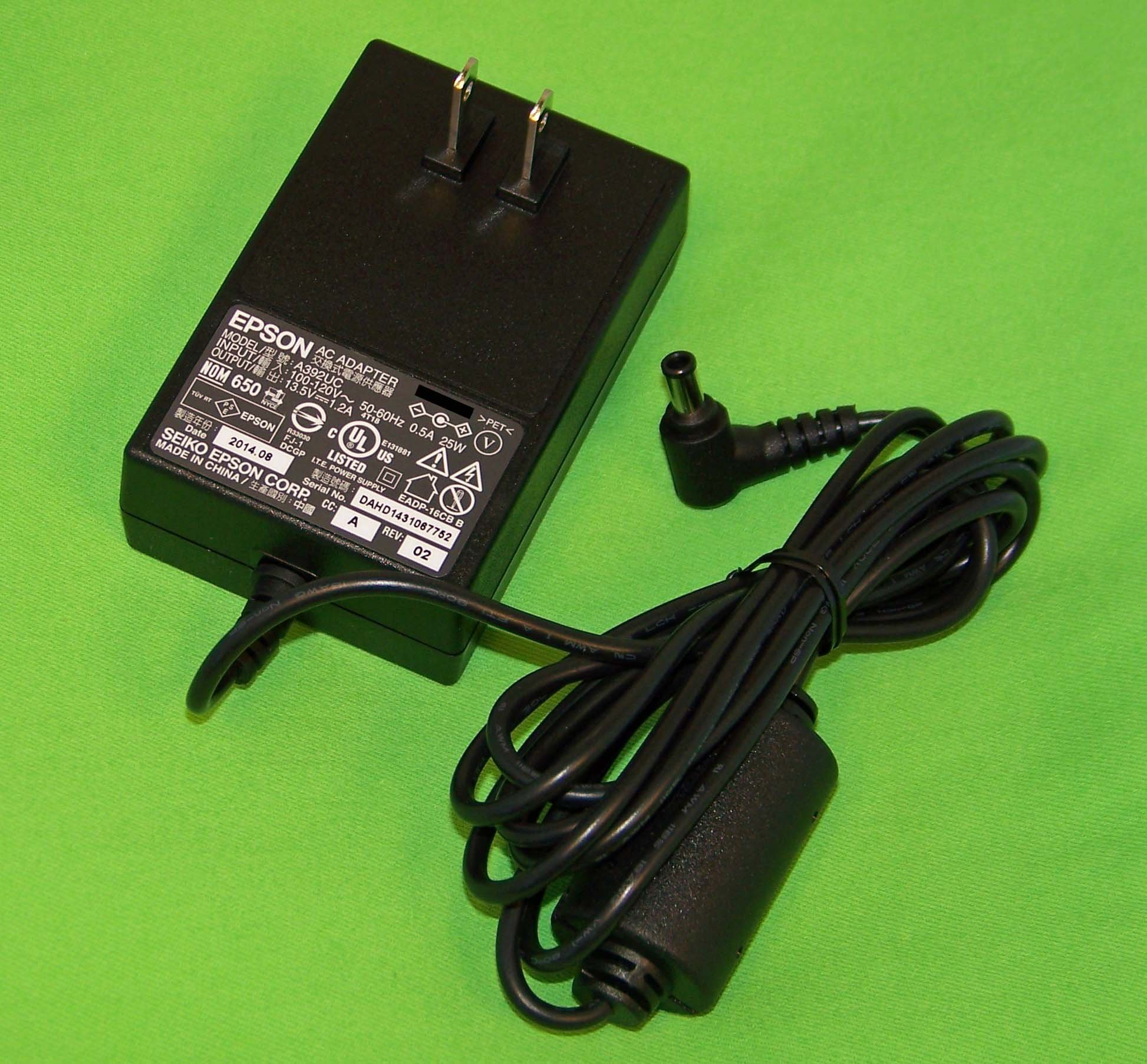 OEM Epson AC Adapter USA Only: Perfection V37, V370, V330, V33, V30, V300