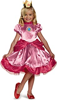 Nintendo Super Mario Brothers Princess Peach Girls Toddler Costume Small/2T  sc 1 st  Amazon.com & Amazon.com: Super Mario Brothers Luigi Costume Small: Toys u0026 Games
