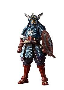 BLUEFIN Bandai Tamashii Nations Meisho Manga Realization Samurai Captain America Action Figure