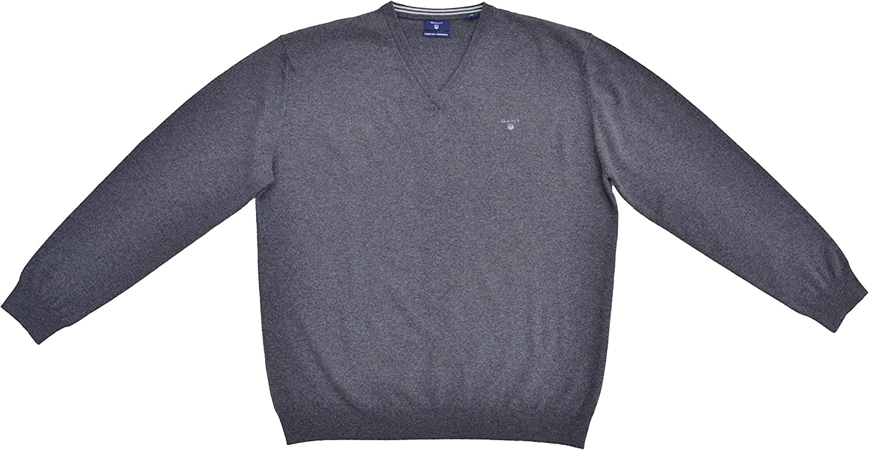 Extrafine Lambswool V-Neck Sweater GANT Mens Md
