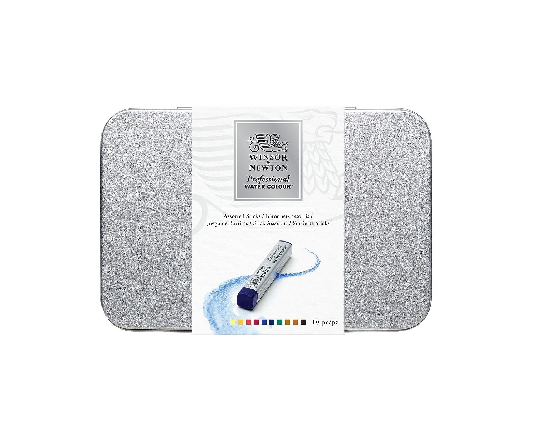 Winsor & Newton confezione 10 Stick Acquarello Extrafine Colart 0190802