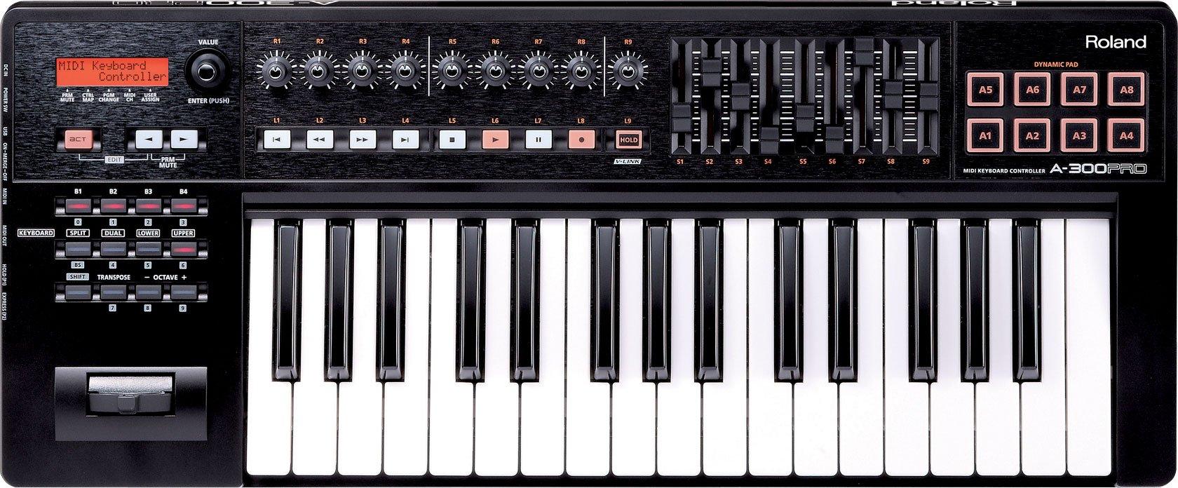 Roland 32-key MIDI Keyboard Controller, black (A-300PRO-R)