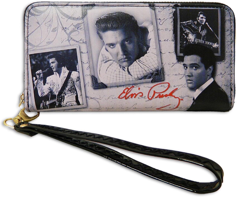 elvis presley wallet credit card king rock roll the art print red 2