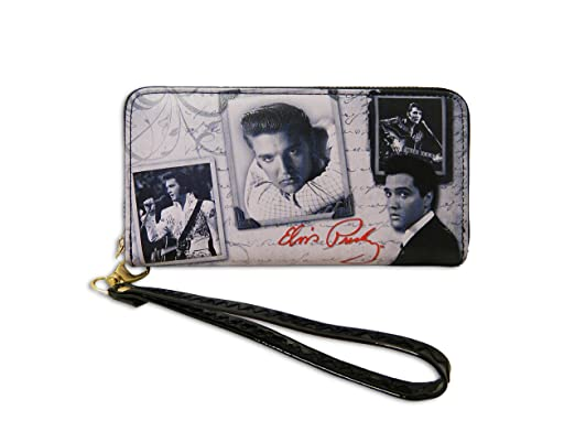 Amazon.com: Elvis Presley Wallet - Frames With Letter: Clothing