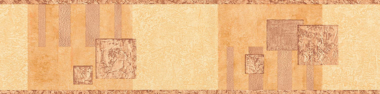 Stick Ups border - material: self-adhesive border - colour: orange, brown - article no. 7690-0647 n.a. 9006-47