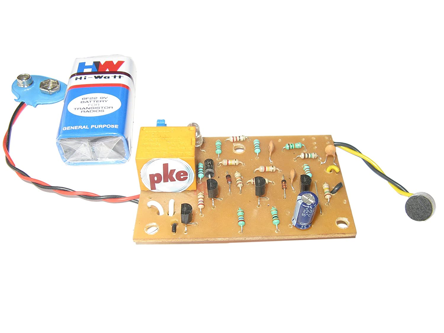 pke Clap Switch - Sound Control Circuit project: Amazon.in: Amazon.in