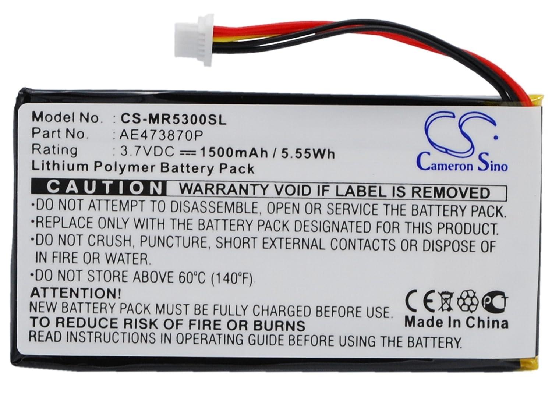 1500mAh Battery For Magellan Maestro 5300, Maestro 5310, Maestro Elite 5340 vintrons 4333154935