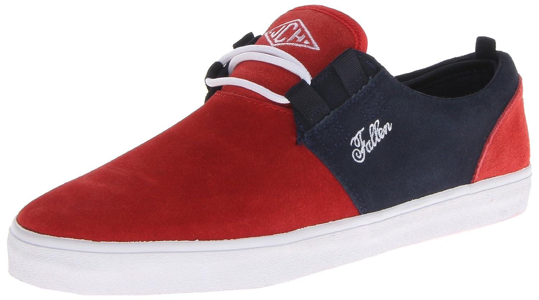f58f8a9bb7fe6 Fallen Men's Capitol Skateboarding Shoe Blood Red/Midnight Blue ...