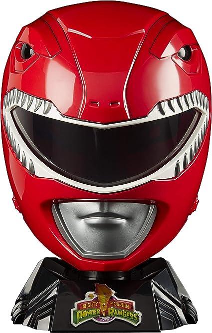 Desigualdad miel Copiar  Power Rangers Lightning Collection - Mighty Morphin Red Ranger - Casco  Premium para exhibir, Juego de rol o Cosplay: Amazon.com.mx: Juegos y  juguetes