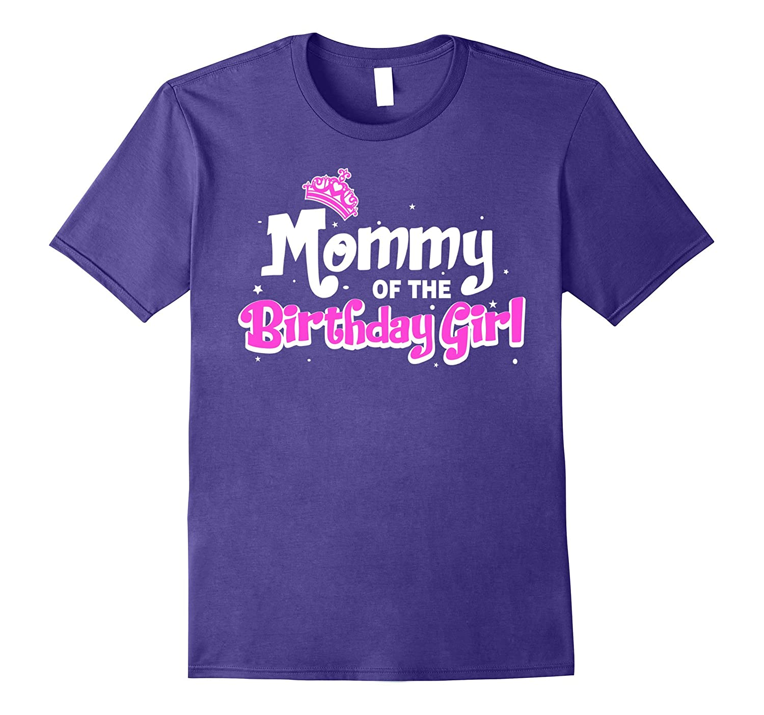 Mommy Of The Birthday Girl T-shirt-Vaci