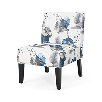 Excellent Christopher Knight Home Kendal Traditional Fabric Accent Chair Print Matte Black Forskolin Free Trial Chair Design Images Forskolin Free Trialorg