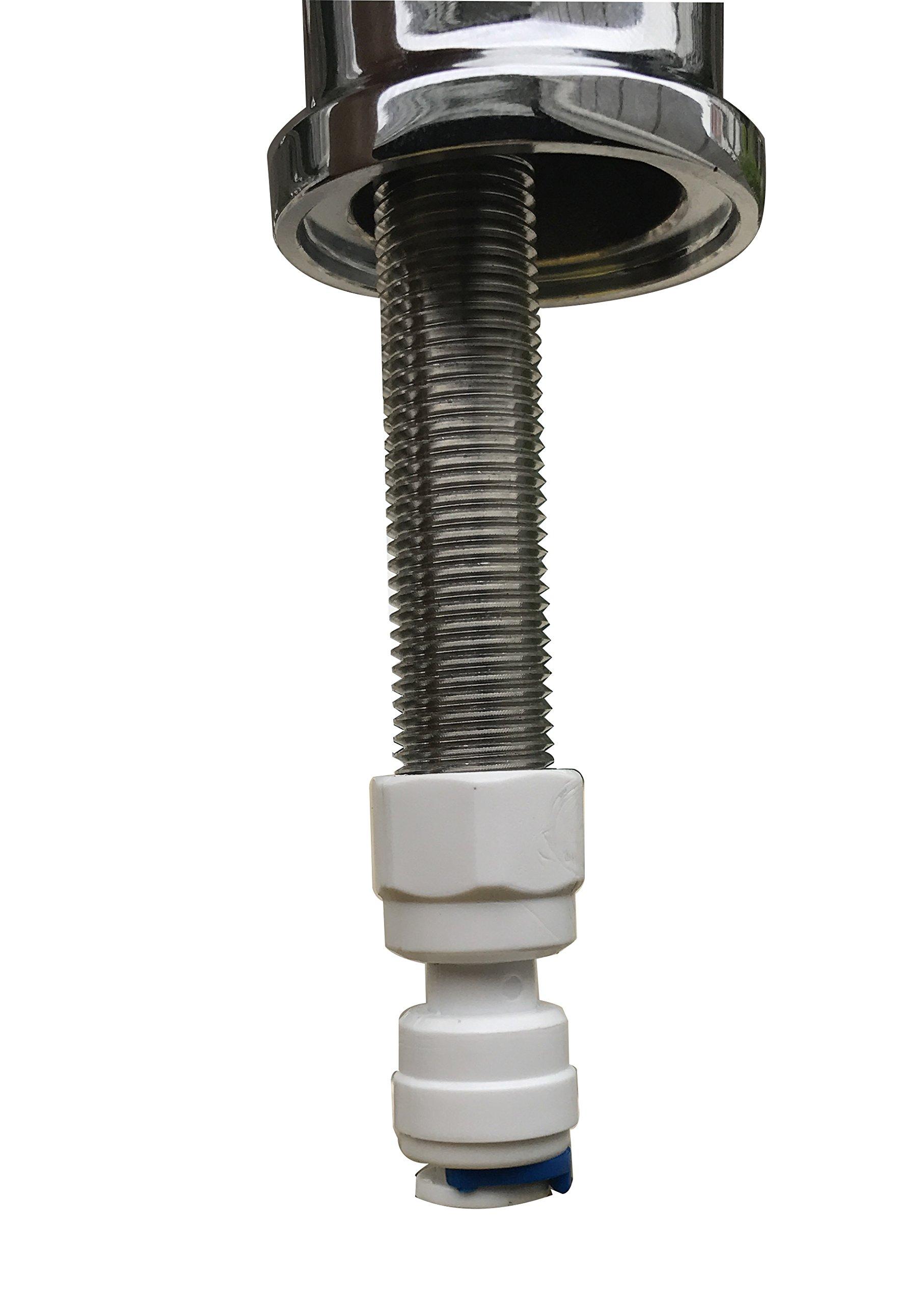 Derengge DFA-0015-BN Drinking Water Filter Faucet cUPC NSF AB1953 Lead Free Brush Nickel