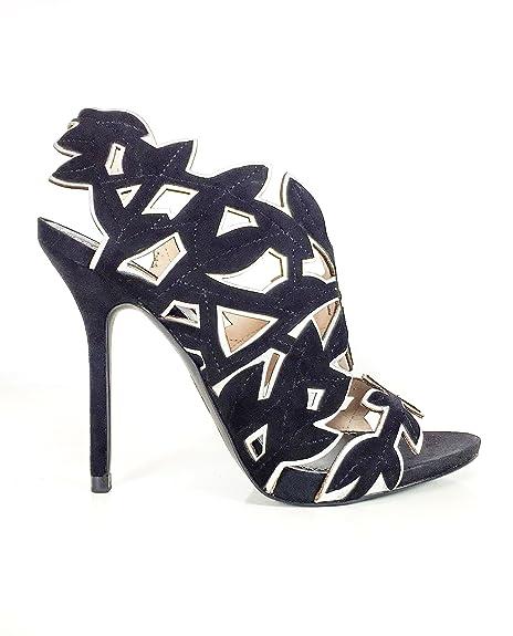 8666fa0040ee Zara Women Leather leaves sandals 5452 201 (39 EU