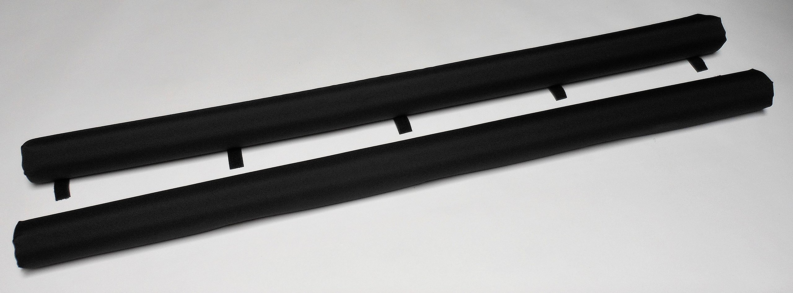Vitamin Blue 54'' Roof Rack Pads Non Fade Black - Non Logo (MADE in U.S.A.) REGULAR PADS by Vitamin Blue