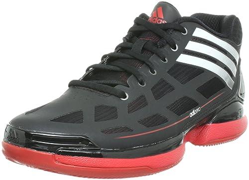 low priced f0d39 ab4d4 adidas Adizero Crazy Light Lo, Scarpe Basket Uomo, Nero (Nero), 48